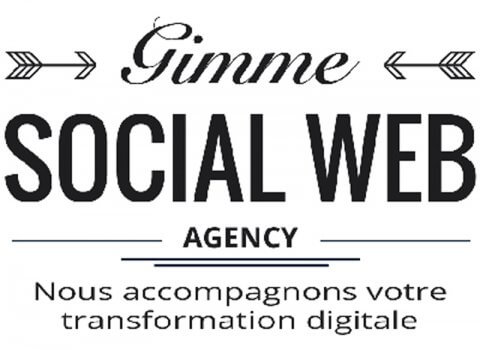 Gimme Social Web – Refonte de blog en site corporate