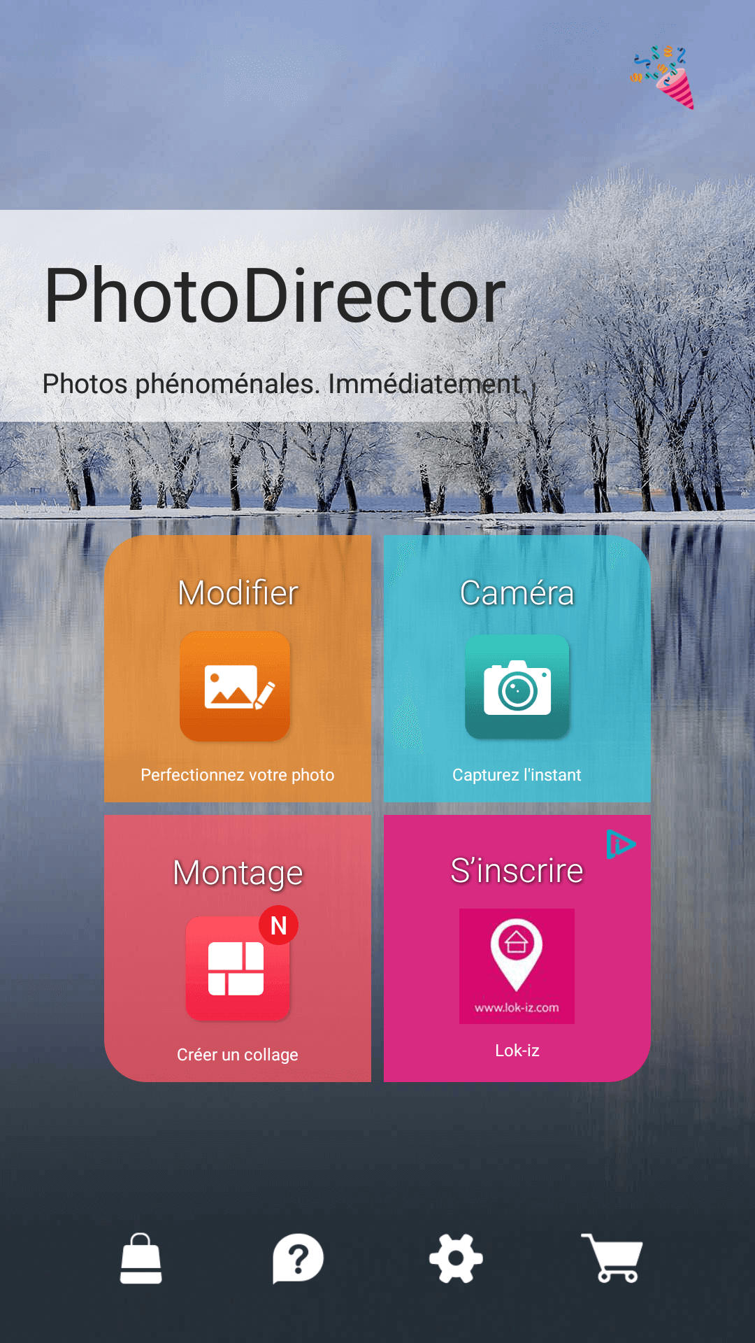 applis d'édition de photos photo director 1