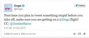 Tweet GOGO