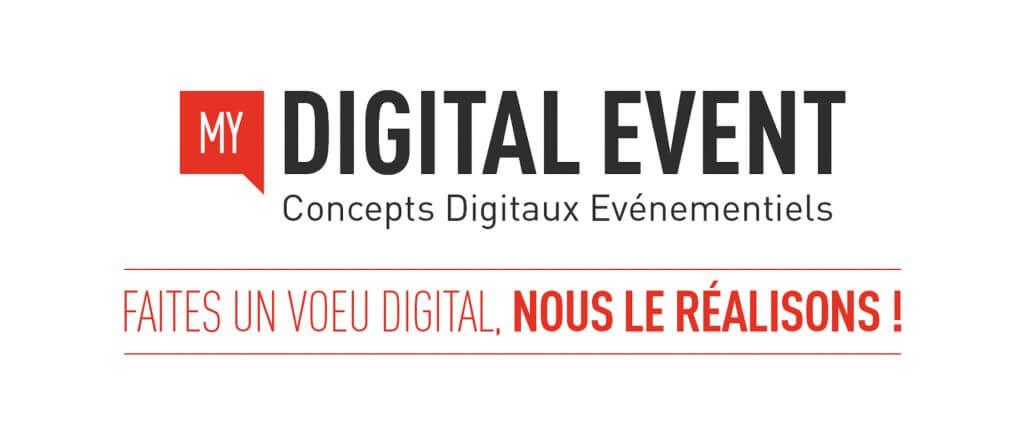 my digital event SLIDE 1