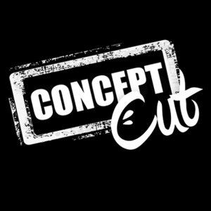 concept cut logo