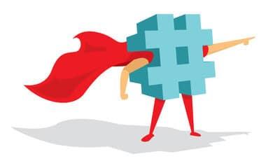 trouver les bons hashtags cible