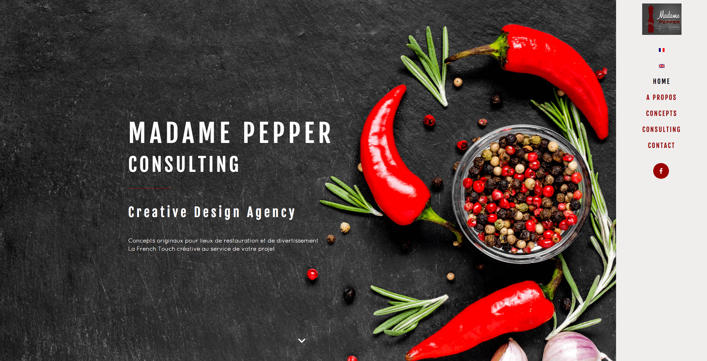 site WordPress multilingue 4 madame pepper consulting